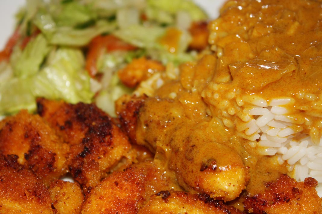 My favourite is the chicken katsu curry, i go for that every time